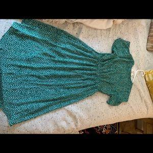Sienna Sky Dresses - Green Wrap Dress- never worn